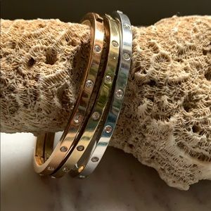 Fossil Tri Color Bracelet Bundle